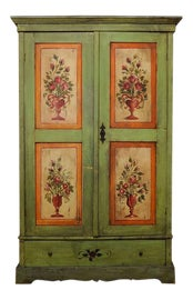 Image of Rustic European Storage Cabinets and Cupboards
