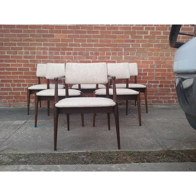 Mid-Century Dining Chairs by Young - Set of 6 - Image 2 of 6