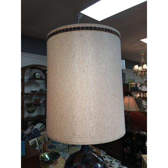 Mid-Century Modern Mid-Century Ceramic Table Lamp For Sale - Image 3 of 5