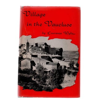 "1958 ""1st Edition, Village in the Vaucluse, Second Printing"" Collectible Book For Sale"