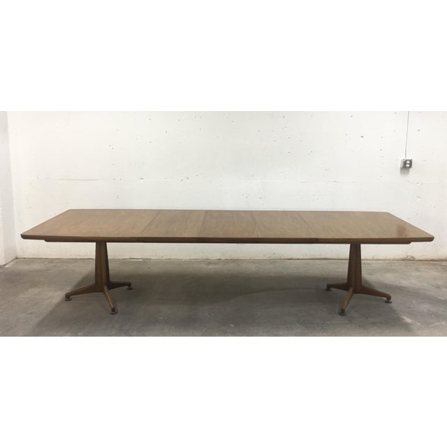 John Widdicomb Mid-Century Dining Table & Chairs - Set of 9 For Sale - Image 6 of 13