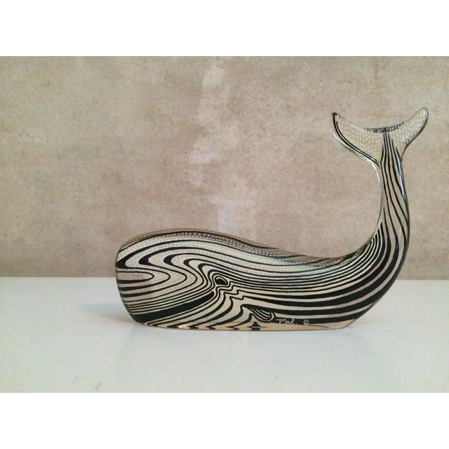 Contemporary Abraham Palatnik Lucite Whale Sculpture For Sale - Image 3 of 7