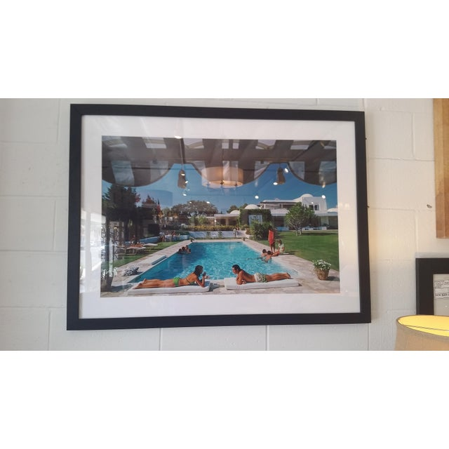 """Poolside in Sotogrande"" Photograph - Image 2 of 4"