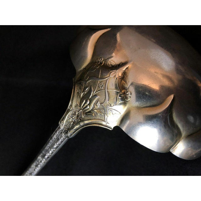 Metal 1880s Tiffany & Co. Sterling Silver Persian Pattern Ladle For Sale - Image 7 of 9