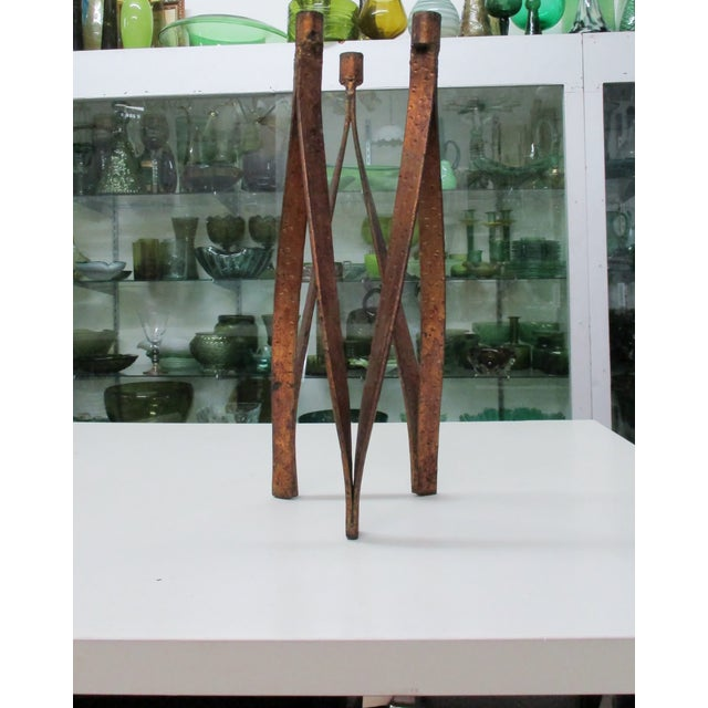 Handmade Iron Candelabra - Image 10 of 10