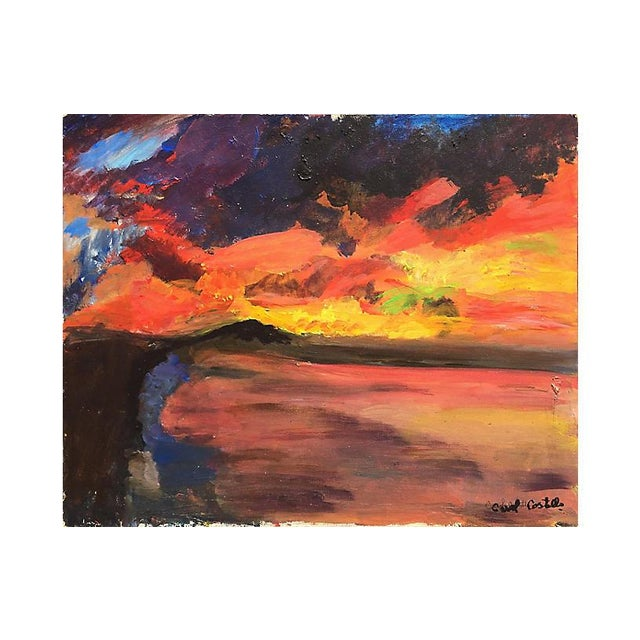 Red Connemara Dawn by Carol Costello For Sale - Image 8 of 8