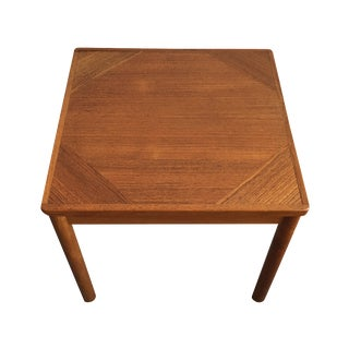 Mid-Century Danish Teak Side Table