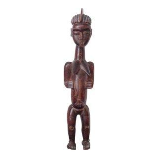 Bauolé (Côte D'Ivoire) Female Spirit Spouse Figure