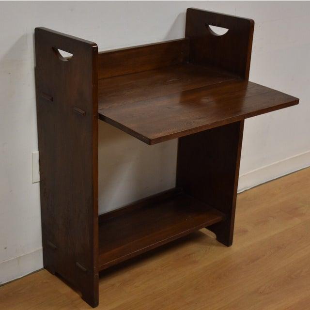 Gustav Stickley Craftsman Desk - Image 3 of 10