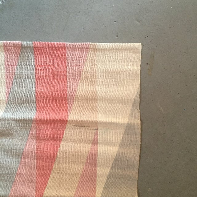 "Color Block Screen Print Rug - 3'1"" X 2' - Image 5 of 5"