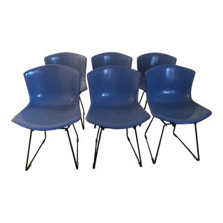 Harry Bertoia Molded Chairs - Set of 6 For Sale