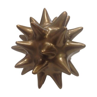 Small Gold Urchin - Set of 2