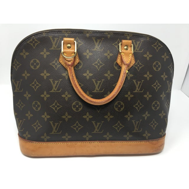 ea91f151d4e Contemporary Vintage Louis Vuitton Alma Bag For Sale - Image 3 of 8