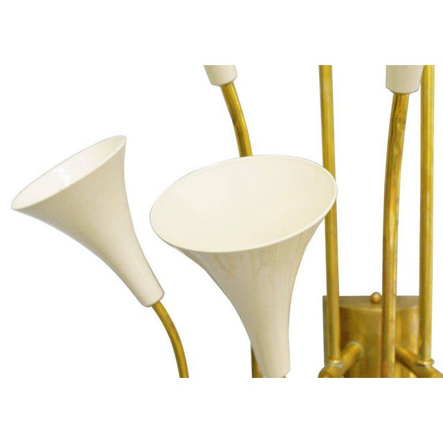 2010s Two Pairs of Trumpets Sconces by Fabio Ltd For Sale - Image 5 of 10