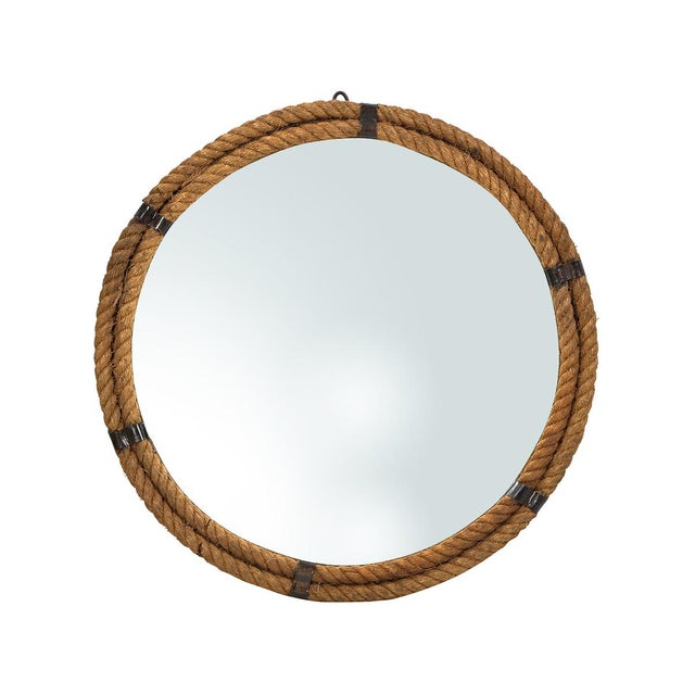 Nautical Rope Round Mirror - Image 1 of 2