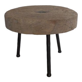 19th Century Wooden Wheel Table For Sale