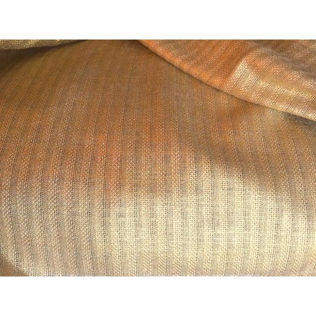 Designer's Guild Sassiere Gold Linen Wide Width Fabric - 2.25 Yards For Sale - Image 9 of 10