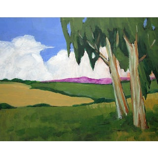 Napa Valley California Eucalytus Landscape Lynne French For Sale