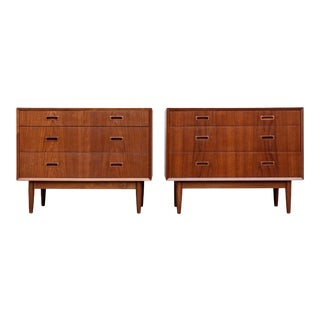 Danish Modern Lyby Møbler Teak Chests - a Pair For Sale
