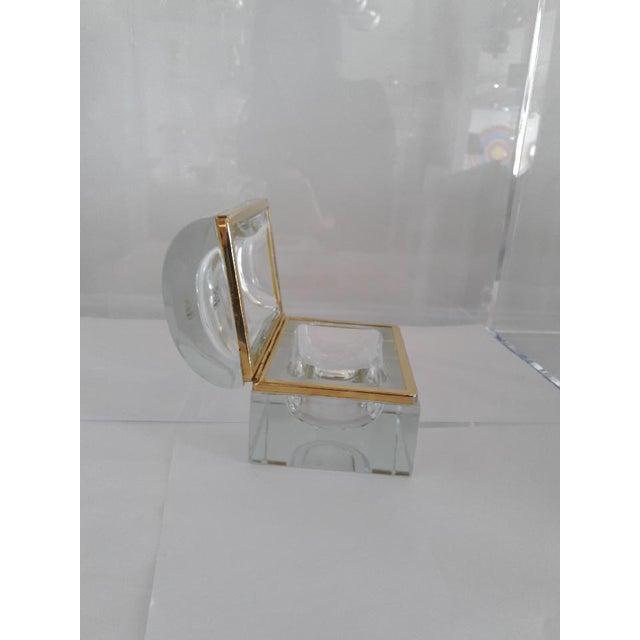 1960s Vintage Murano Glass Box- Mandruzzato For Sale - Image 5 of 11