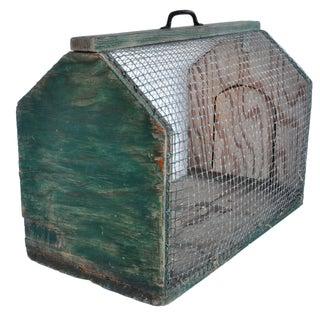 Antique Pet Cage For Sale
