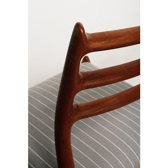 Fully Restored 1960s Teak Dining Chairs by Niels O. Møller-Set of 6 For Sale - Image 10 of 13