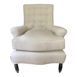 Napoleon III Club Chair For Sale