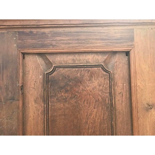 1900s Antique Oak Armoire - Image 5 of 8