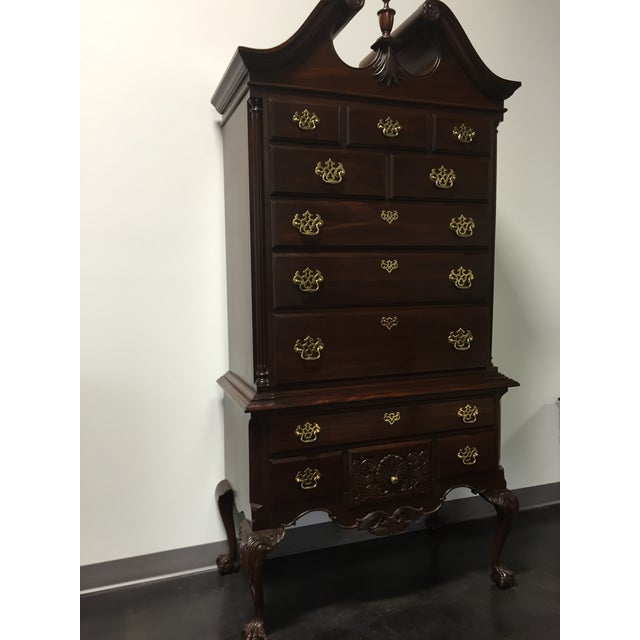 Davis Queen Anne-Style Ball & Claw Highboy - Image 3 of 11