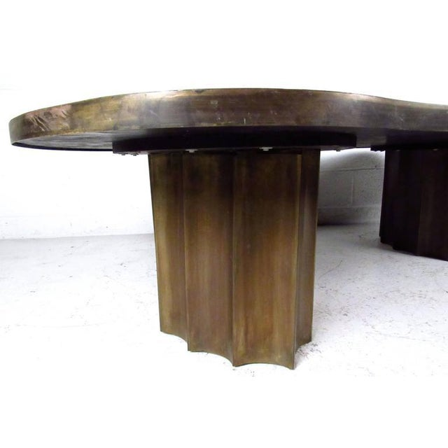 1960s Vintage Philip & Kelvin Laverne Free Form Odyssey II Coffee Table For Sale - Image 5 of 11