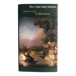 """1997 J. Paul Getty Museum """"Handbook of the Collections"""" Later Edition Art Book For Sale"""