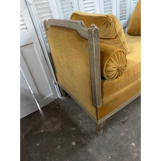 Early 18th Century Swedish Neoclassical Daybed For Sale In Atlanta - Image 6 of 9
