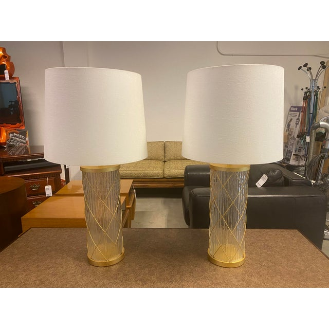 Fisher Weisman Montgolfier Grand Table Lamps - a Pair For Sale - Image 12 of 12
