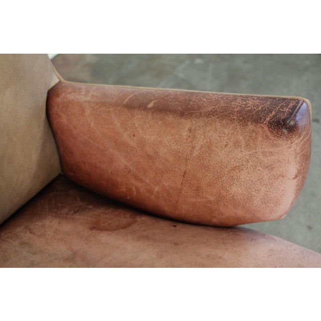 1950s Vintage Jens Risom for Knoll Custom Lounge Chair For Sale In San Diego - Image 6 of 13