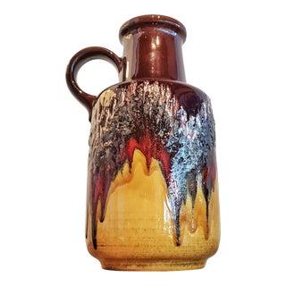 Large Scheurich Keramik Jug Vase Nr. 408/40 For Sale