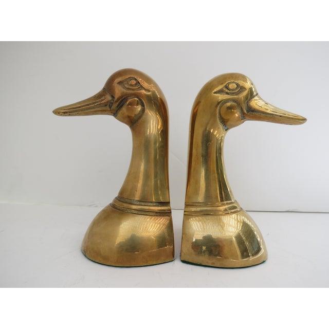 Brass Mallard Bookends - A Pair - Image 2 of 6