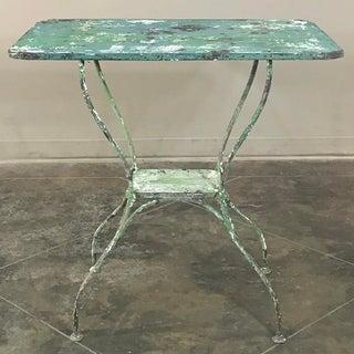 Antique Iron Garden ~ Cafe Table Preview