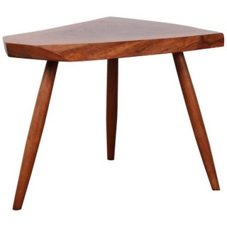 Walnut Side Table by George Nakashima