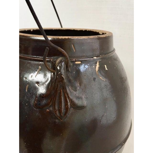 Antique Stoneware Batter Jug For Sale - Image 4 of 10