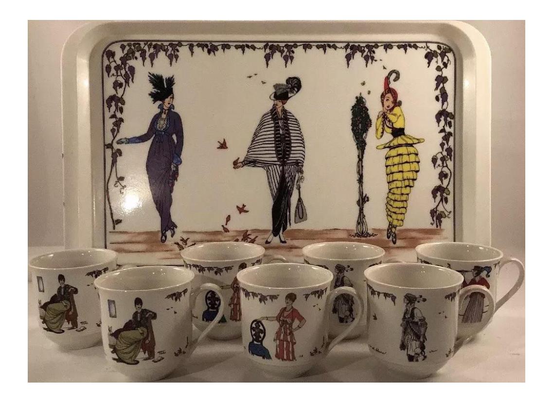 Villeroy And Boch Design 1900 Mugs Set Of 8 Chairish
