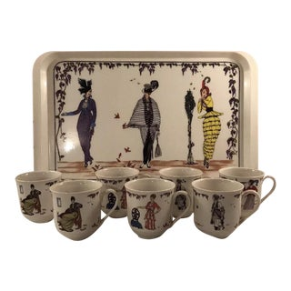 Villeroy And Boch Design 1900 Mugs -Set Of 8