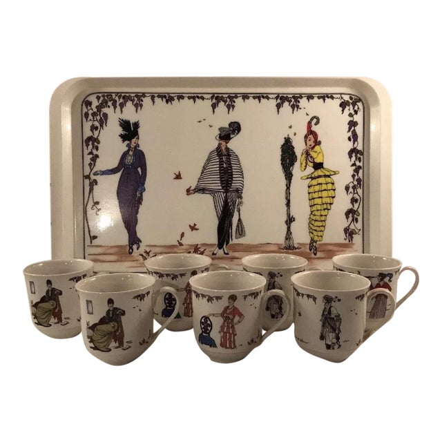 Villeroy And Boch Design 1900 Mugs Set Of 8 Chairish