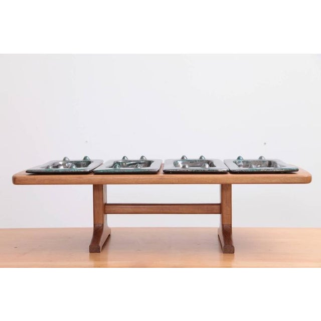 1950s French Table Tray by Guillerme et Chambron & Boneslaw Danikowski, Serving Piece For Sale - Image 5 of 6