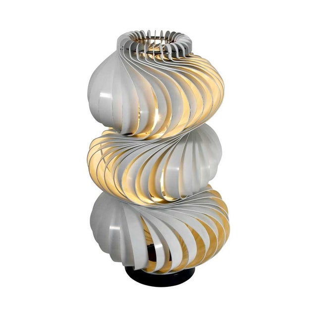 Mid-Century Modern Medusa Lamp by Olaf Von Bohr For Sale - Image 3 of 5