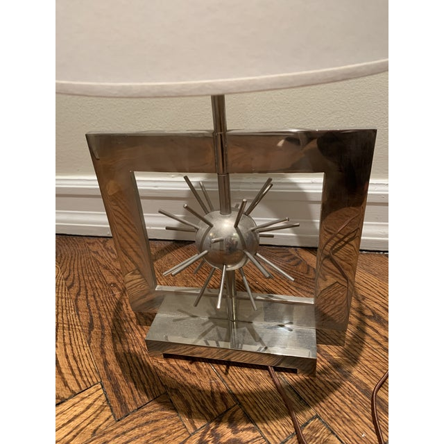 Spiked Accent Table Lamp For Sale - Image 4 of 5