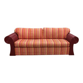 1980s Vintage Split Reed Sofa For Sale