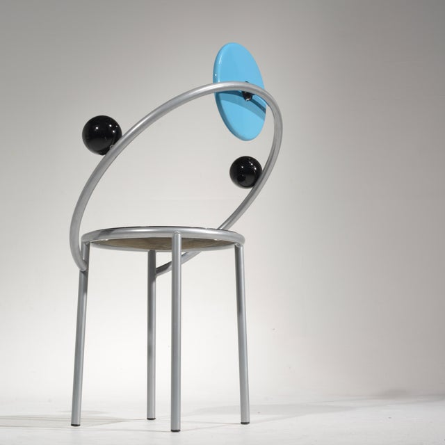 Michele De Lucchi First Chair for Memphis, Milano For Sale - Image 12 of 13