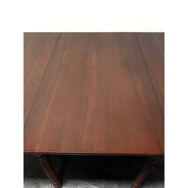 Brown Willett Cherrywood Gate Leg Drop Leaf Dining Table For Sale - Image 8 of 11