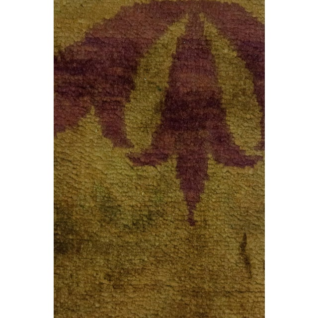 "Contemporary Traditional Hand Knotted Area Rug - 8'1"" X 10'1"" For Sale - Image 3 of 3"