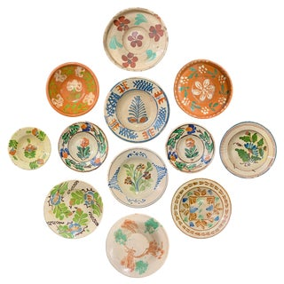 19th Century Hungarian Ceramic Bowls - Set of 12 For Sale